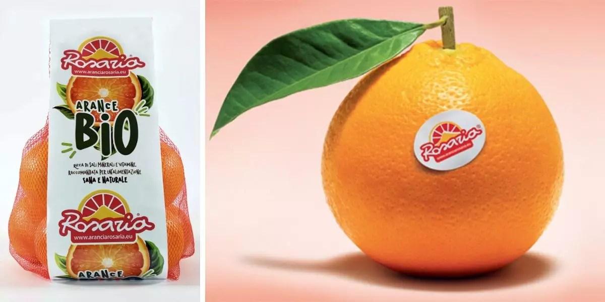 Rosaria arancia bio