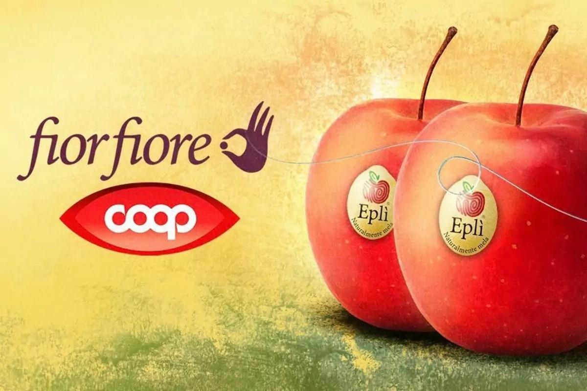 Fior Fiore Coop: Eplì, naturalmente mela, dal 2021 nella linea di Coop Italia
