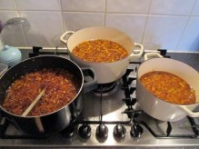 Marmalade on the stove