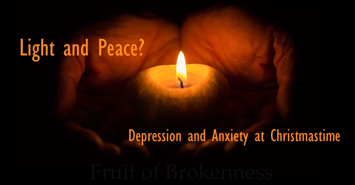 Light and Peace? Depression and Anxiety at Christmastime