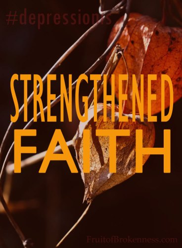 #depressionis... strengthened faith. Remembering the Sanctity of Human Life