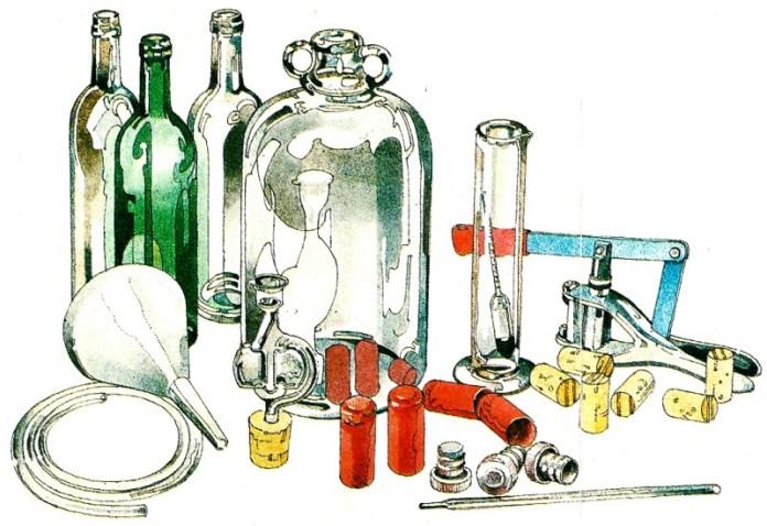 Оборудование для приготовления вина