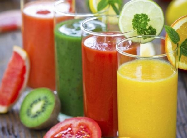 various juices