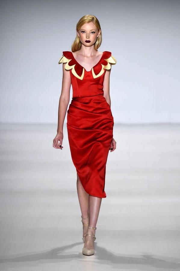 Deola Sagoe/Clan runway model