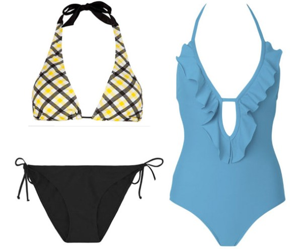 Swimwear for pear shape
