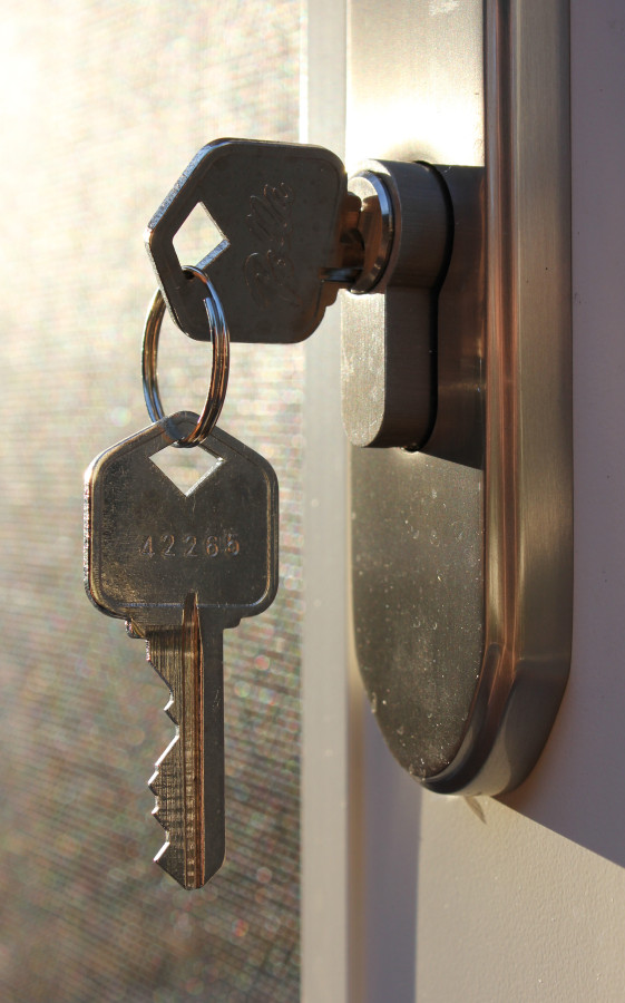 Picture of house keys