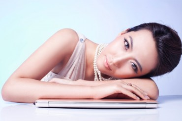 Picture of woman with a laptop