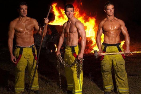 Hot firemen