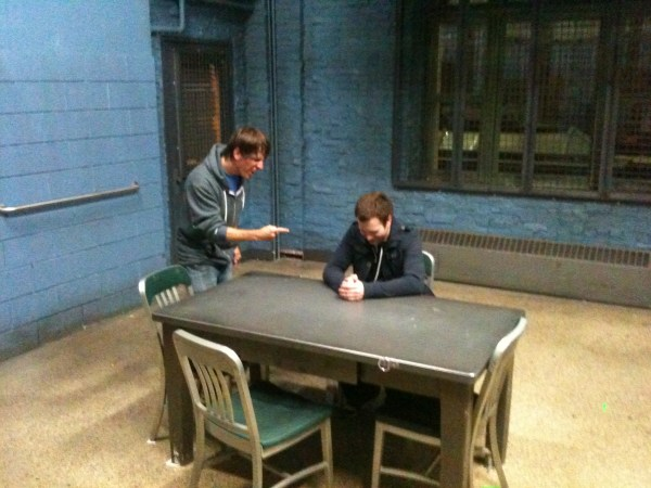picture of police interrogation