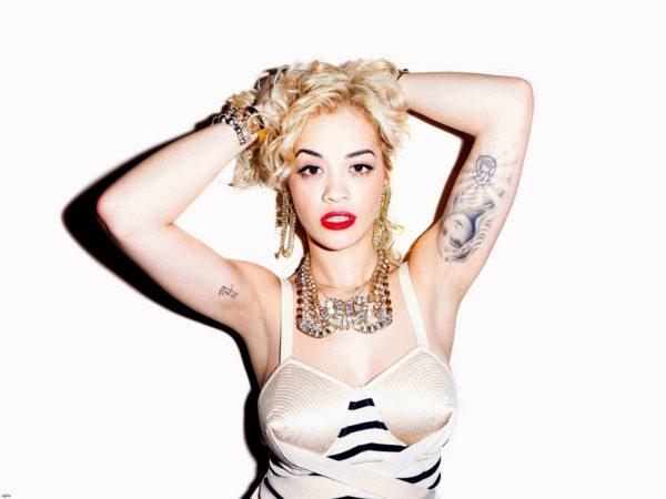 Rita Ora Ballerina Tattoo