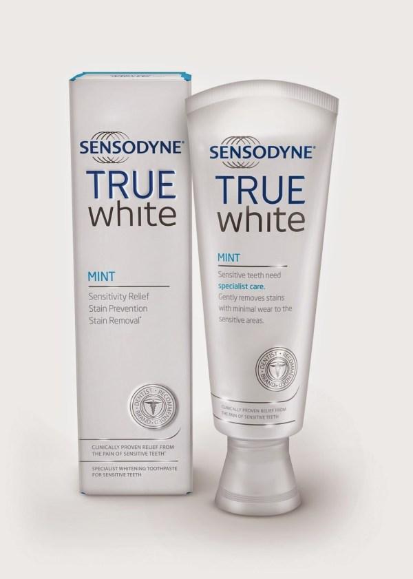 Sensodyne True White toothpaste