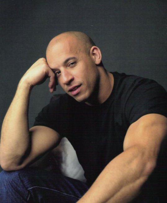 bald celebrity