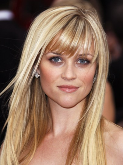 Reese Witherspoon heart face shape