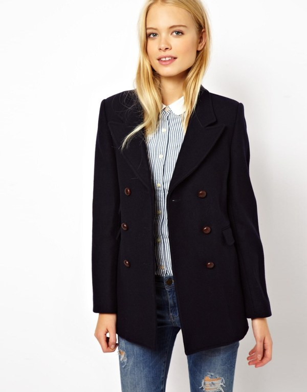 Jack Wills Wool Pea coat