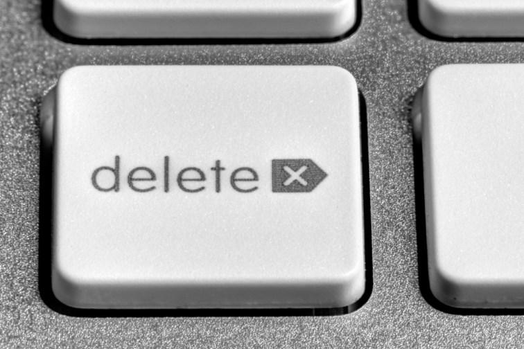 Delete! (Image: Flickr)