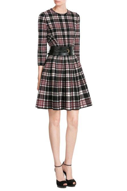 Alexander McQueen Tartan Wool Dress - £1,045