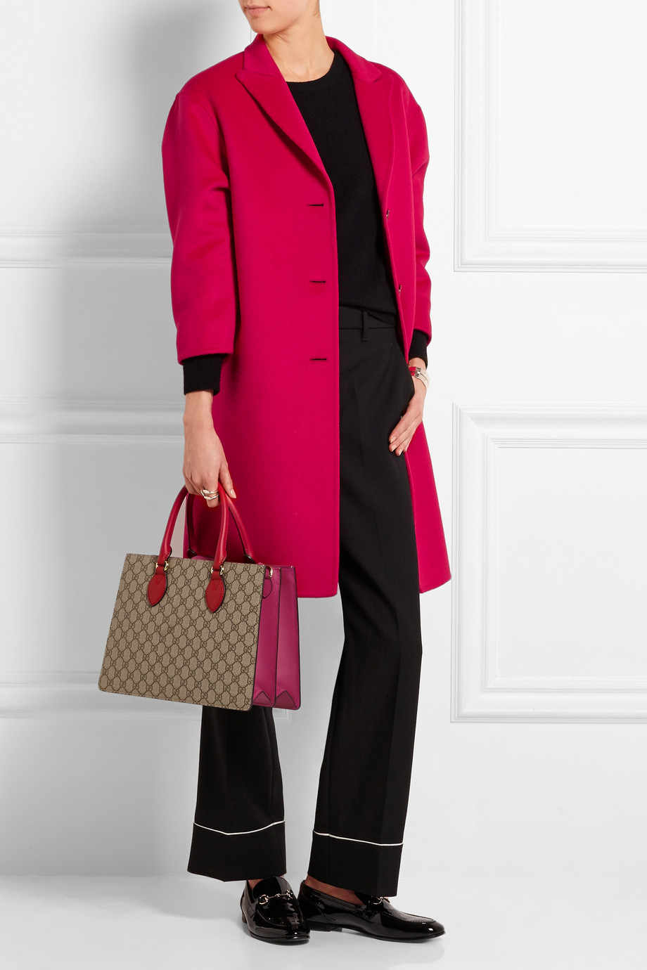 Gucci Oversized Wool and Angora-Blend Coat - £1,900