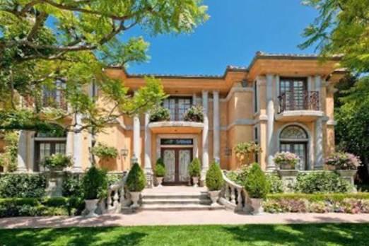 Charlie Sheen's mansion.