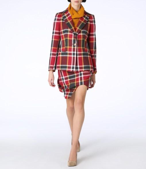 Vivienne Westwood Red Tartan Classic Blazer