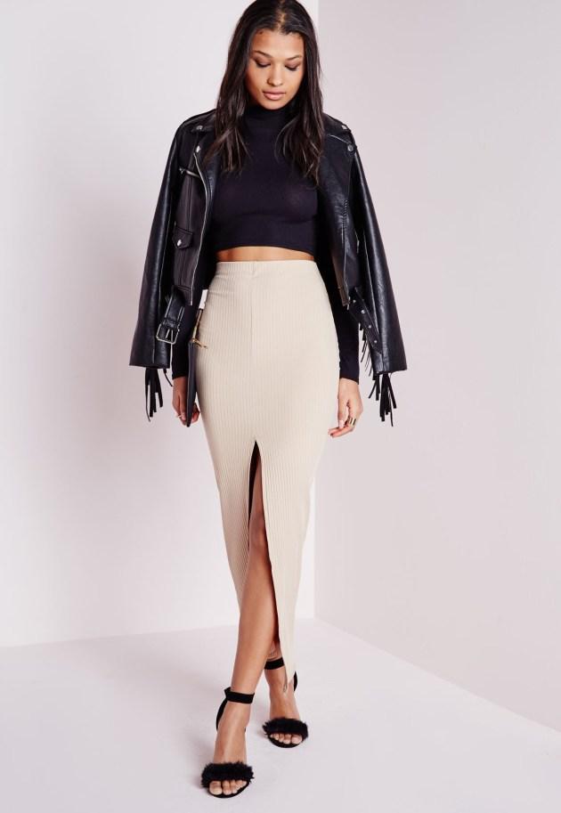 Missguided Midi Skirt (Image: missguided.com)