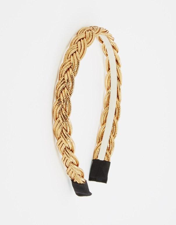 Plaited rope headband