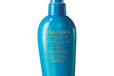 Shiseido sun cream