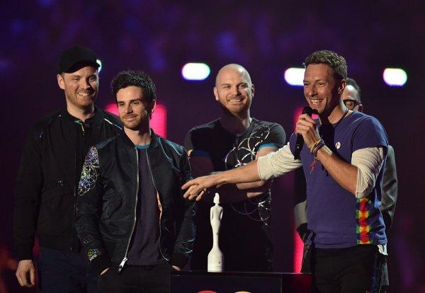 Coldplay at Brits