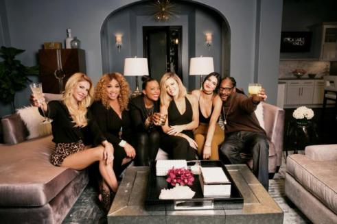 First Show Of The Season -Snoop Dogg, Kendall Jenner, Aisha Tyler,Brandi Glanville and Kym Whitley -Image Soure nydailynews.com
