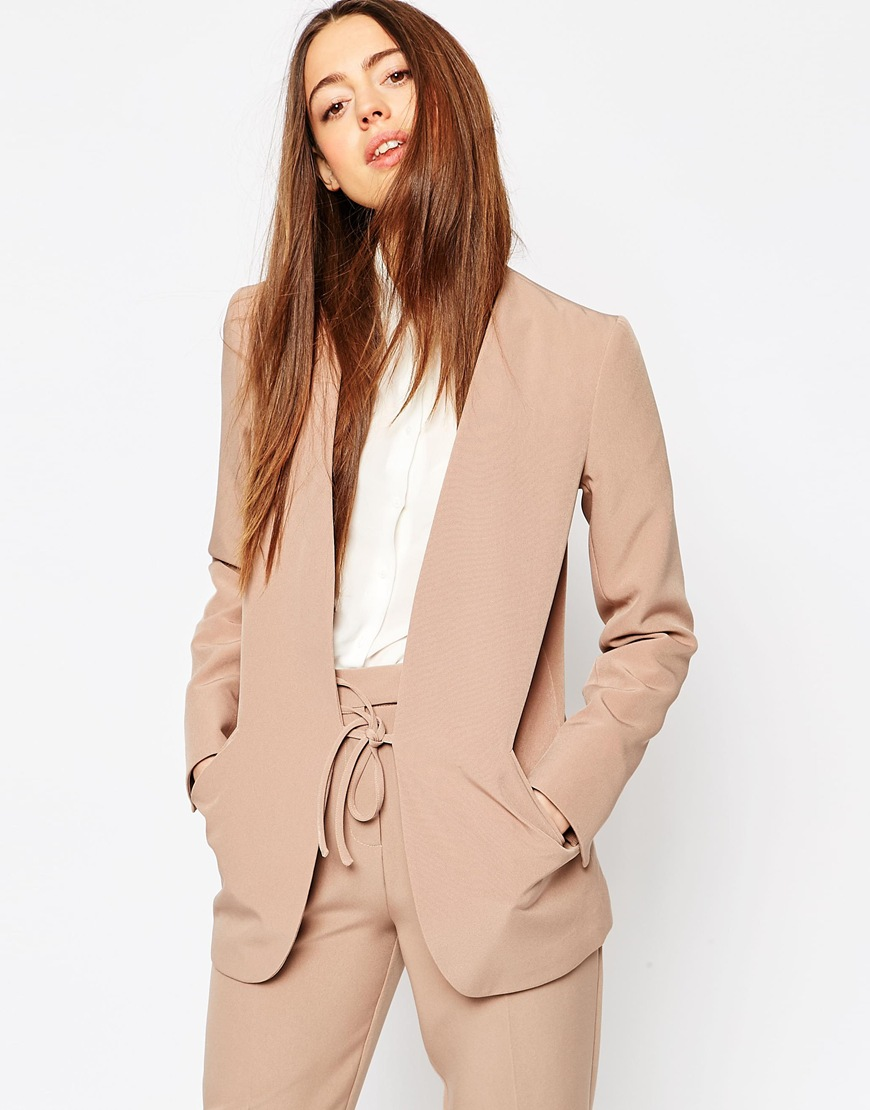 Asos suit and blazer co-ord