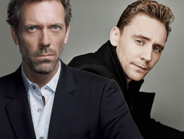 Hugh Laurie and Tom Hiddleston