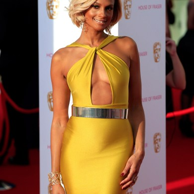 Alesha Dixon at the BAFTA's