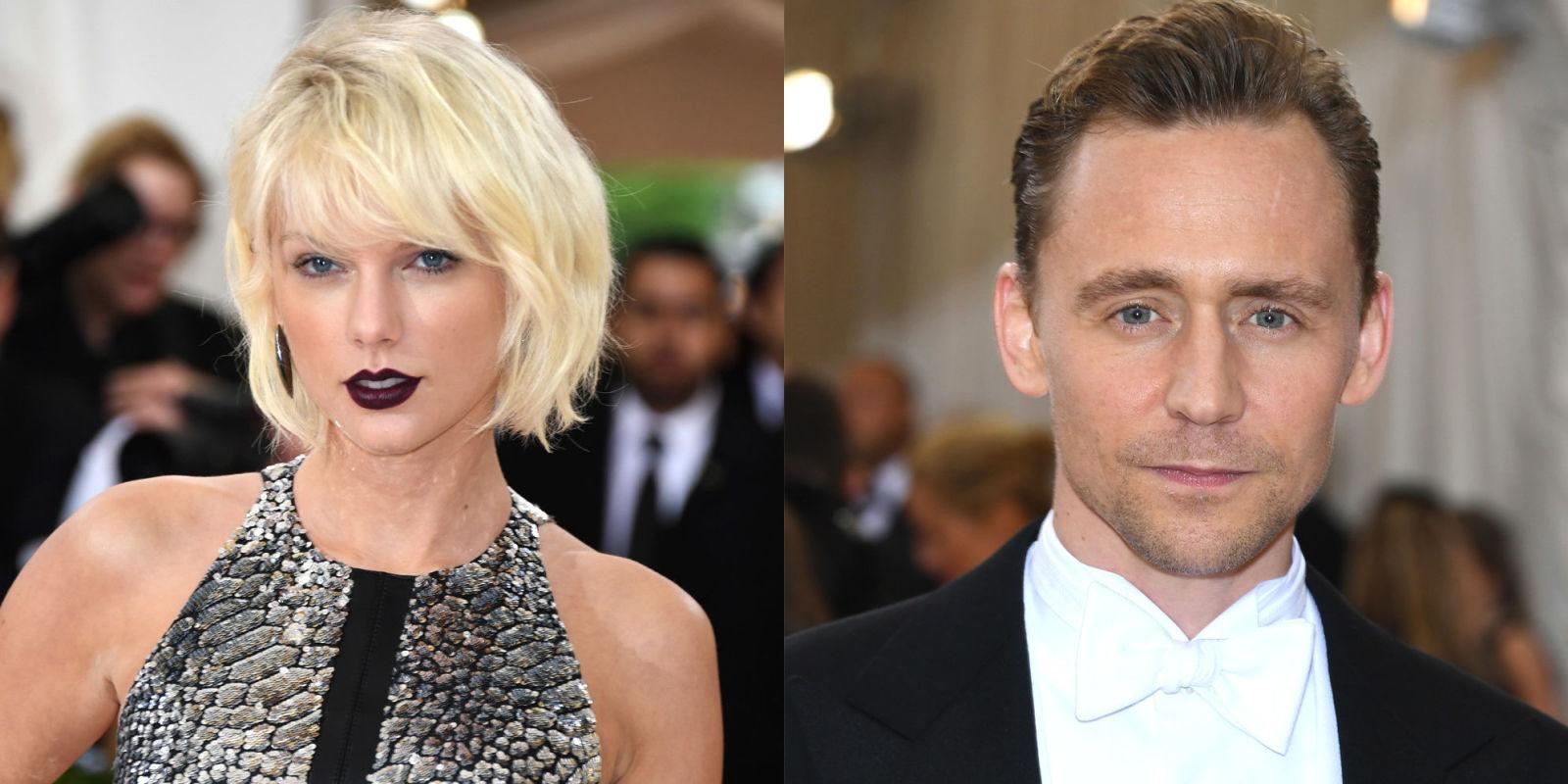 Taylor and Tom Hiddleston met gala