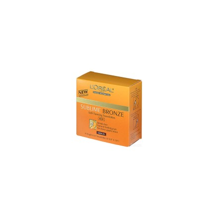 L'areal sublime self-tan towelettes