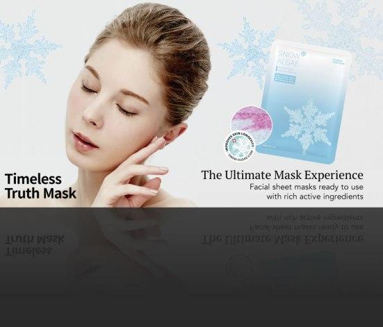 Timeless Truth snow algae sheet mask