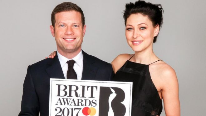 Dermot and Emma Willis
