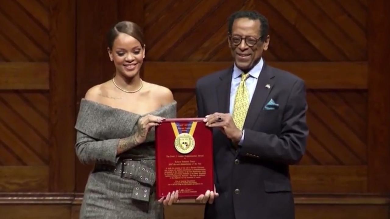 Rihanna hardvard honour
