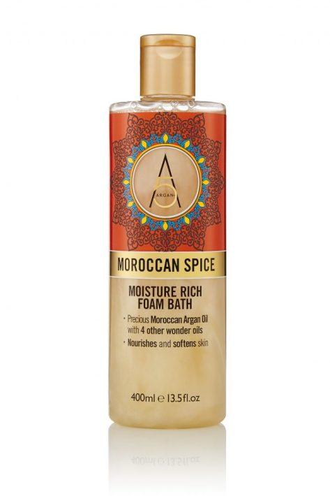 Moroccan spice bath foam
