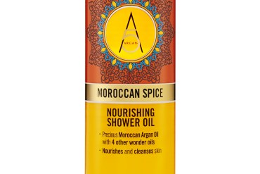Argan and moroccan spice shower oil