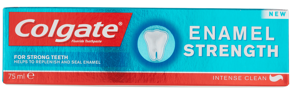 colgate enamel strength