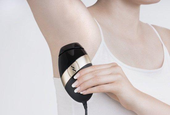 smooth skin iplon under arm