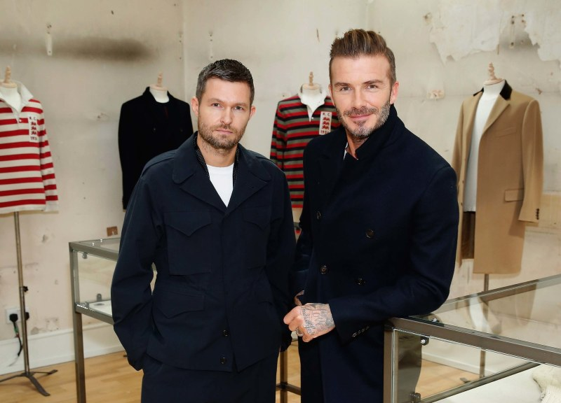 David Beckham x British Heritage Brand Kent & Curwen
