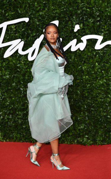Rihanna British fashion awards 2019