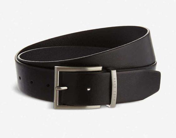 BOSS Leather belt, £70.00