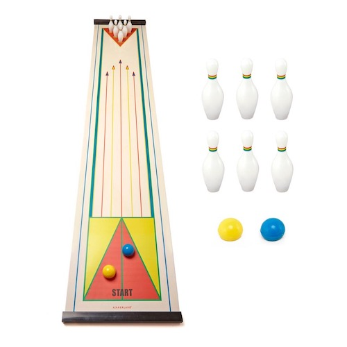 Kikkerland Design Tabletop Bowling Game