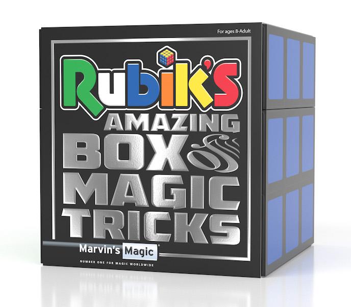Rubik's Amazing Box of Tricks £24.99 from Marvin's Magic kids