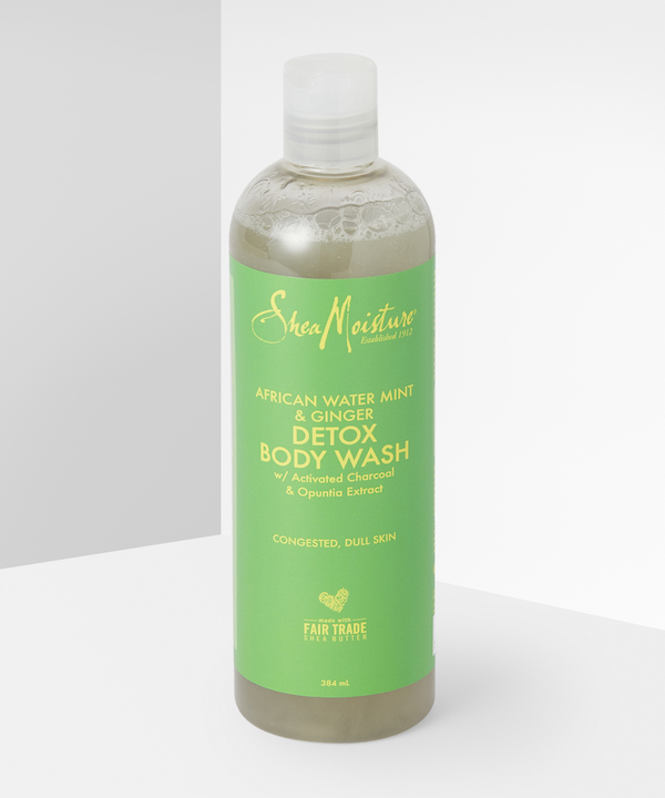 Shea Moisture - African Water Mint & Ginger Detox Body Wash