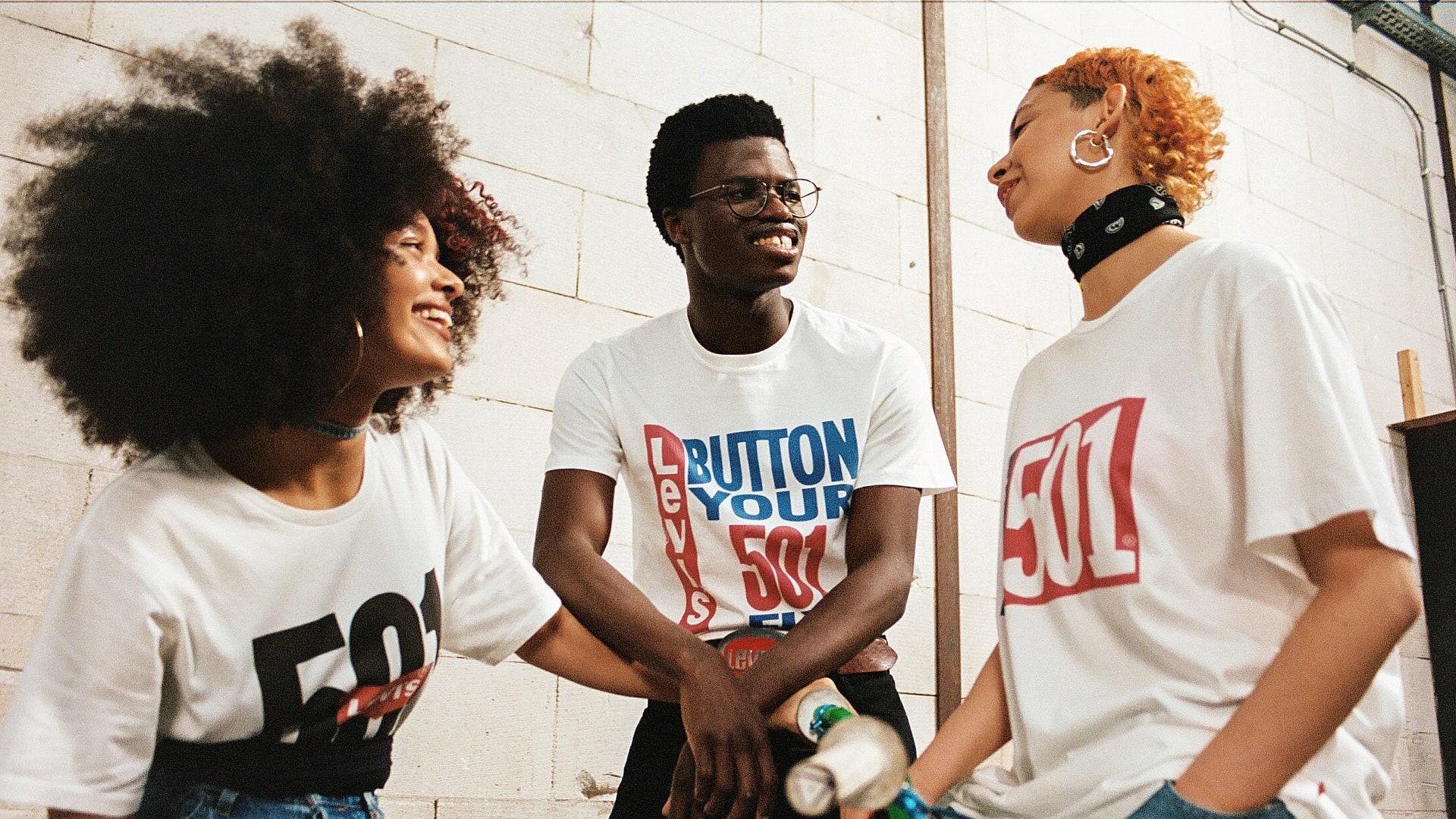 Levi's 501 T-shirt Campaign