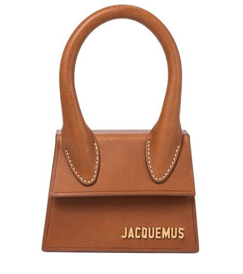 JACQUEMUS Le Chiquito leather tote bag purse