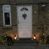 Dekorationer med julestemning