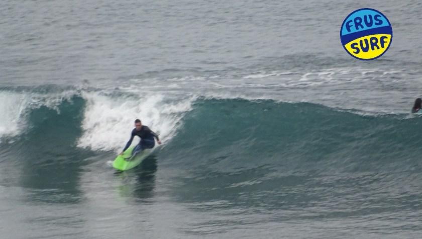 Playa de La Salvaje. Surf. Día de Reyes magos frussurf